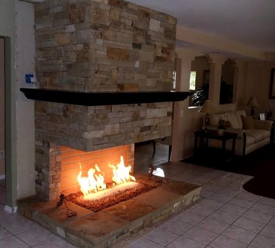 2 Flores Masonry LA Fireplace