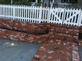 brickwall steps stairs