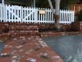 brickwall steps, stairs