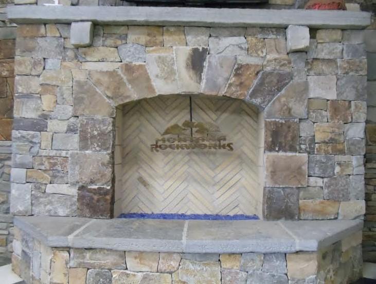 Fireplace2 Flores masonry